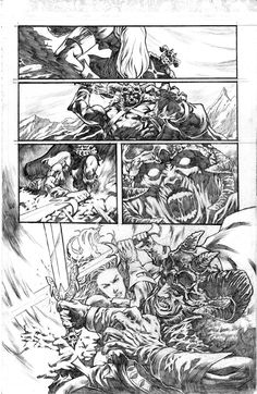 Red Sonja tryout page 2