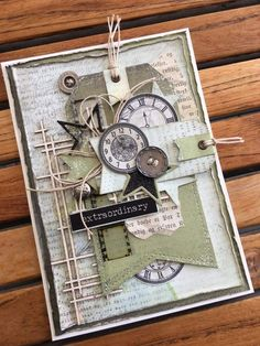 Ideas Craft Ideas For Men Masculine Cards - Scrapbooking Birthday Cards For Boys, Masculine Birthday Cards, Handmade Birthday Cards, Masculine Cards, Birthday Diy, Male Birthday, Steampunk Cards, Shabby Chic Cards, Boy Cards