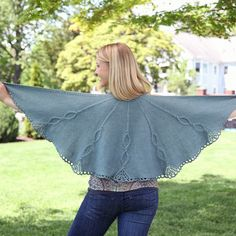 Valley Yarns 547 Chandelier Shawl in  Valley Yarns $3.49 to download