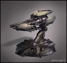 R3 Breach Turret by MeckanicalMind.deviantart.com on @deviantART