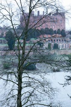 Medieval Powis Castle, Powys, Mid Wales
