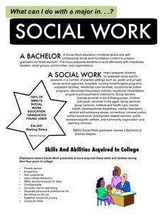 what a social worker does brochure examples | bachelors in social work online