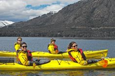 Lago Gutierrez Half-Day Kayak Tour from Bariloche Adventure in kayaking on this half day trip in Bariloche, Patagonia. Discover the most beautiful scenery while on a kayak. Get your cap,  gloves, sunscreen and camera ready and head out for a kayak adventure.     This half day trip is one of the most beautiful trips around Bariloche. Begin with a pick up in town at 2 pm and once everyone is on board, drive to our exclusive boarding place on...