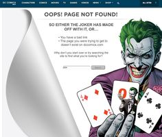 404 from DC Comics