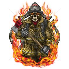 Firefighter Drawing, Firefighter Bedroom, Firefighter Logo, American Firefighter, Volunteer Firefighter, Firefighter Tattoos, Fire Hose Crafts, Dark Art Illustrations, Firefighter Pictures