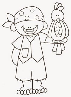 Pirate Treasure Map Coloring Pages