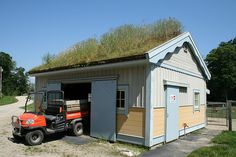 Sod Roof Garage