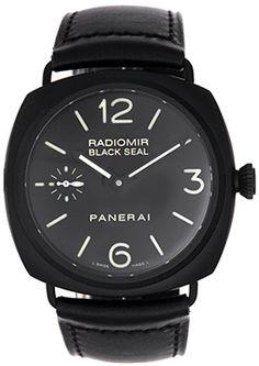 Panerai Radiomir Black Seal Ceramic.   The more I see these Panerai's, the more I like 'em.