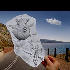 Photo + Drawing = Awesome Art