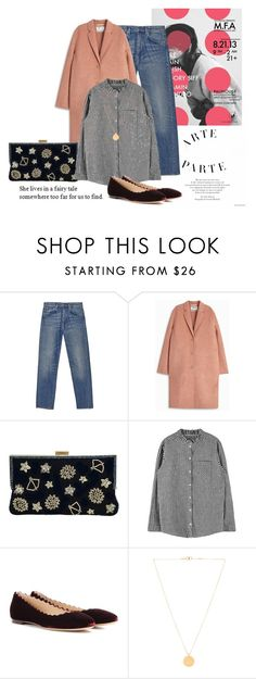 """""""Untitled #1086"""" by parisheartschic ❤ liked on Polyvore featuring Acne Studios, La Regale, Chloé and Isabel Marant"""