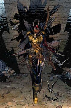 New Mutants#3 | Dani Moonstar by Adam Kubert