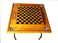 Dr Flag, Domino Table, Checker Board, Wood Work, My Dream Home, Diy Ideas, Woodworking, Amazon, Projects