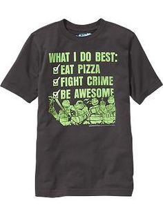 Boys Teenage Mutant Ninja Turtles™ Tees | Old Navy