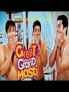 Great Grand Masti Movie Plot: Great Grand Masti is an upcoming Bollywood adult Comedy film directed by Indra Kumar and Produced by Ashok Thakeria. This movie is a sequel of Grand Masti part 1. Rite…