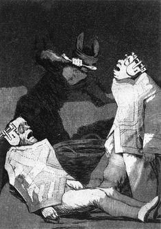 Francisco de Goya y Lucientes 1799 AquatintEtching    triviumproject.com