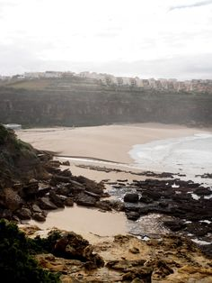 Beach in Ericeira, Portugal Travel Around The World, Around The Worlds, Mother Nature, Travelling, Portugal, River, Beach, Lily, Outdoor