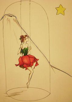 Rose little prince