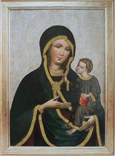 Matka Boża z dzieciątkiem - Muzeum Diecezjalne w Przemyślu Queen Of Heaven, Madonna And Child, Virgin Mary, Our Lady, Renaissance, Mona Lisa, Christ, Saints, Blessed