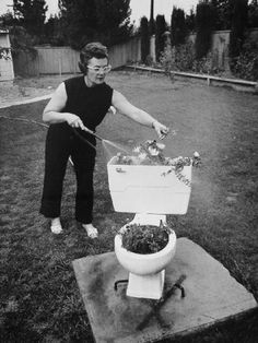 Bill Owens. Haha this reminds me of something my grandmother would do.