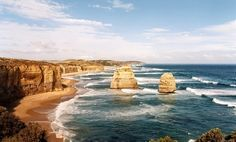 Victoria, Australia- 12 apostles along great ocean road. Places Around The World, Oh The Places You'll Go, Places To Travel, Places To Visit, Around The Worlds, Dream Vacations, Vacation Spots, Vacation Destinations, Visit Australia