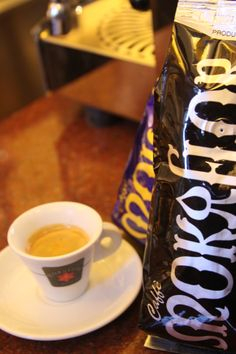 Visiting Florence?  Come to Conti Tuscany Flavours to sample our Mokaflor 100% Arabica espresso.