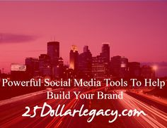 #25dl #tips #branding #socialmedia #leadership  #business Get your business in front of millions of viewers... http://wu.to/DhpxXG