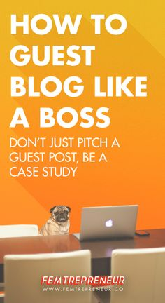 "Don't just pitch a guest post - BE A CASE STUDY  I get a ton of questions about guest posting. I talk about guest posting as  an incredibly powerful list-building and blog growth strategy, but lots of  new bloggers want to know how to actually get started with these audience  and list-building gigs.   Just this week, I received these questions from readers:  ""How do you guest post effectively? I've tried it before but nothing really  happened. What am I doing wrong?""  ""I started guest…"