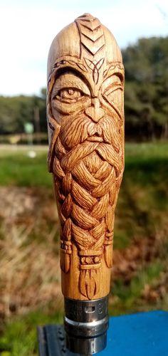 Sculptures, Native American Art, Norse Mythology, Carved Wood, Celtic, Knives, Sculpting, Sculpture