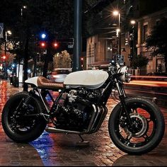 """4,637 Likes, 16 Comments - Cafe Racer And Bobber Nation (@caferacerandbobbernation) on Instagram: """"A well hand build Honda CB 750 1982 property by the badass @brogue_motorcycles . Clean details,…"""""""