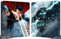 Batman v Superman: Dawn of Justice (artwork by MessyPandas) #steelbook #concept