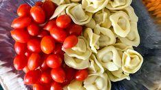 See Tortellini cooking tips for pasta salad using Trader Joe's tortellini pasta - fresh or frozen. | sipbitego.com #sipbitego #pastasalad #makeahead #potluck #sidedish #pastadish #familymeal #recipe #comfortfood #pasta #tortellini Best Dinner Recipes, Whole Food Recipes, Pasta With Olives, Baked Pasta Dishes, Baked Rigatoni, Pesto Tortellini, Make Ahead Salads, Sloppy Joes Recipe