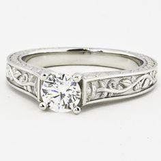 Platinum Jardinière Ring