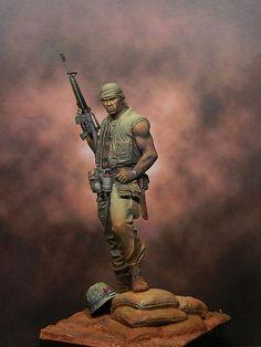 Vietnam - Soldado Americano (Vietnam - American Soldier)