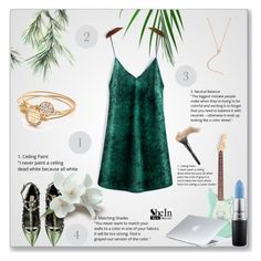 """""""Shein 3"""" by amra-f ❤ liked on Polyvore featuring Valentino, MAC Cosmetics, Dyson and shein"""