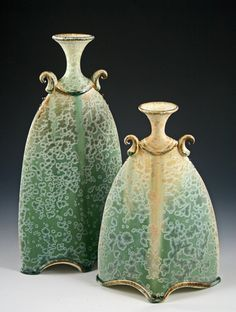 Pottery Boys Clay Studio's vases.