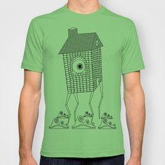 Lanky Land T-shirt by Matthew Lok - $18.00