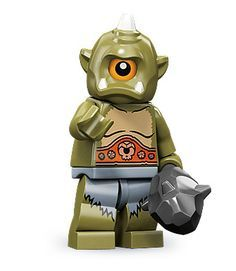 Black Friday 2014 Lego 71000 Series 9 Minifigure Cyclops from LEGO Cyber Monday. Black Friday specials on the season most-wanted Christmas gifts. Building For Kids, Building Toys, Lego Star Wars, Legos, Lego People, Lego Minifigs, Lego Ninjago, Cool Lego Creations, Lego Worlds