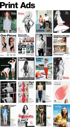 American Apparel-A company I would love to design for .