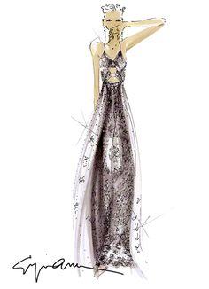 Szkice znanych projektantów: Giorgio Armani Więcej na ModaCafe! Fashion Illustration Sketches, Illustration Mode, Fashion Sketchbook, Fashion Design Sketches, I Love Fashion, Fashion Art, Fashion Beauty, Skirt Fashion, Fashion Trends