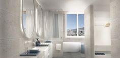 Lakeside Hotel, Fashion Room, Villa, Bathtub, Bathroom, Mirror, Building, Furniture, Color