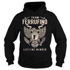 Team FERRUFINO Lifetime Member - Last Name, Surname T-Shirt