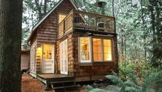 The Gingerbread Cottage | Tiny House Vacations