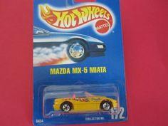 Mazda Mx-5 Miata (Yellow) #172 1991 Hot Wheels All Blue Card with Basic Wheels by Hot Wheels. $9.99. Mazda Mx-5 Miata (Yellow) #172 1991 Hot Wheels All Blue Card with Basic Wheels