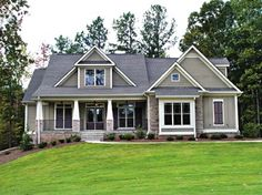 Different colors.. ahh... craftsmen style homes.. sigh.