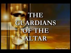 Guardians Of The Altar - Altar Server training program Bless Us O Lord, Bible Teachings, Catechism, Busy Life, First Communion, Training Programs, Altar, Catholic, Prayers