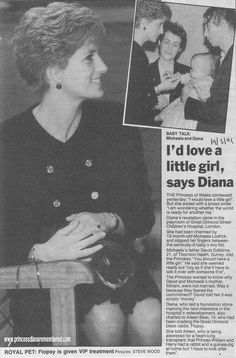 Today's 'Memory of Diana' is from March 1991. Princess  Diana was visiting Great Ormond Street's children's hospital in London where she had laid a foundation stone marking the next milestone in the hospital's redevelopment.   She chatted to Aileen Beat aged 14, who had been cradling the Great Ormond Street black rabbit 'Flopsy'.