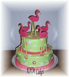 flamingo cake.  i think i found my 27th birthday cake.