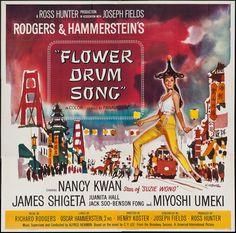 Flower Drum Song (1961) Stars: Nancy Kwan, James Shigeta, Benson Fong, Jack Soo, Miyoshi Umeki ~ Director: Henry Koster (Nominated for 5 Oscars, 2 Golden Globes)