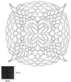 Crochet Art: Crochet Lace Pillow Cover - Free Crochet Pattern