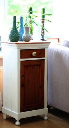 Upcycle your old thrifty vintage cupboards with these easy DIY. Furniture Makeover, Painted Furniture, Vintage Cupboard, Diy Furniture Plans, Revamp Furniture, Diy Furniture, Furniture, Home Decor, Vintage Furniture